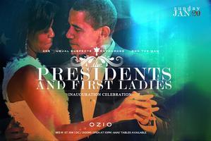 'PRESIDENTS & 1ST LADIES' AT OZIO ROOFTOP LOUNGE