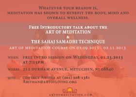 Free Seminar on Meditation
