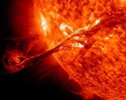 Solar Storm Warning