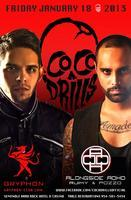 ✦ COCODRILLS ✦ NIGHTCLUB ✦ Friday, JAN 18th at GRYPHON...