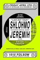 SHLOHMO + JEREMIH