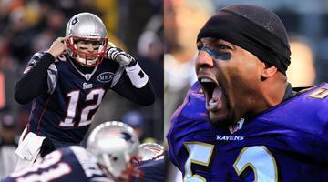 Baltimore Ravens vs. New England Patriots NFL Playoff