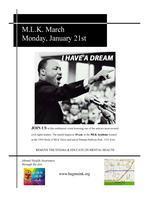 MLK march - Removing the Stigma