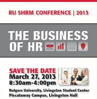 2013 RU SHRM Business Conference Registration