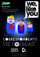 We, Like You with The Correspondents & DJ Format