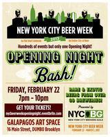 NYC Beer Week Opening Night