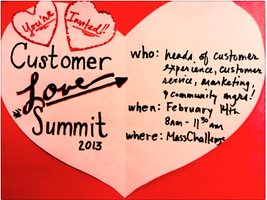 2013 Customer Love Summit