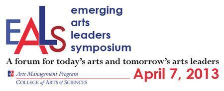 Emerging Arts Leaders Symposium 2013 at American...