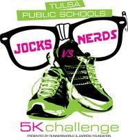 "Tulsa Public School's ""Jocks vs. Nerds"" 5K Run..."