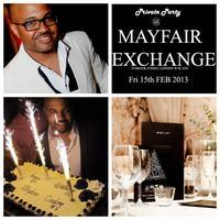 PRIVATE PARTY @ THE MAYFAIR EXCHANGE BB271426DC