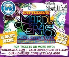 Phat Tuesday Mardi Gras Pub Crawl