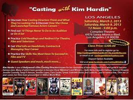 Casting With Kim Hardin 2013: Los Angeles