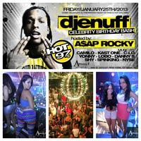 I LOVE FRIDAYS WITH RAP STAR A$AP ROCKY AT AMNESIA NYC...