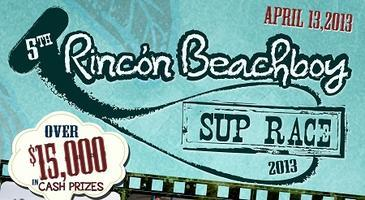 5th Rincon Beachboy  Stand Up Paddleboard Race