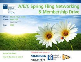 A/E/C Spring Fling Networking & Membership Drive