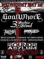 Goatwhore, 3 Inches Of Blood, Revocation, Ramming Speed
