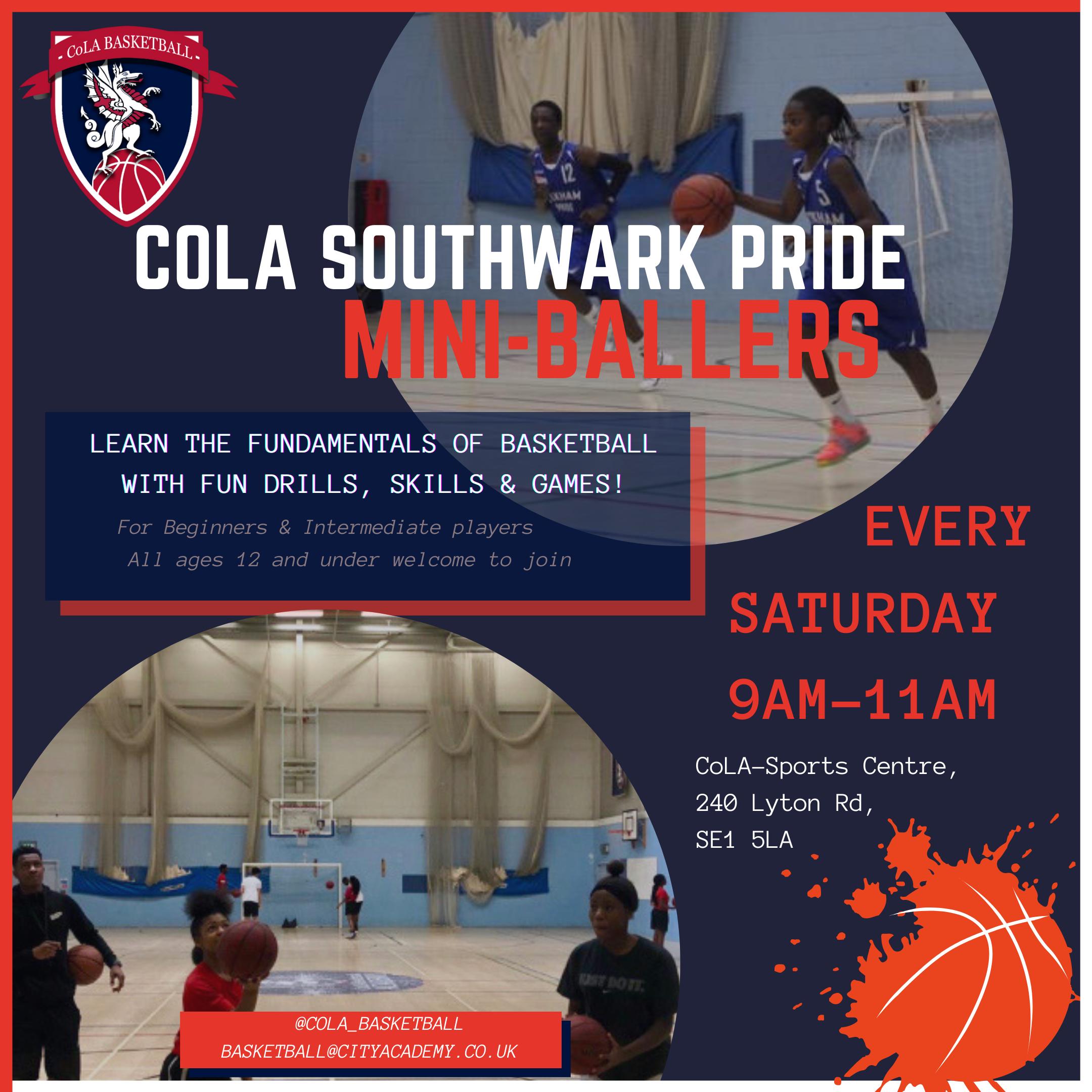 CoLA Basketball Mini-Ballers
