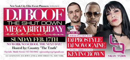 Dj Boof Birthday Bash At LQS