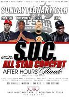 Tonight FEB.17, 2013 SUC CONCERT Lil Keke, Big Pokey,...
