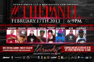 #ThePanel (DJ Edition) 2/17 at Threadz Boutique