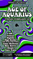THE AGE OF AQUARIUS- JSB BIRTHDAY BASH***MAKE-UP DATE****