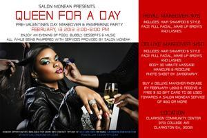 PRE-VALENTINES DAY MAKEOVER & PAMPERING PARTY