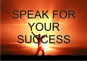 Speak For Your Success
