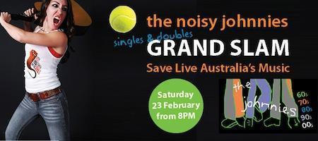 the noisy johnnies SLAM day gig