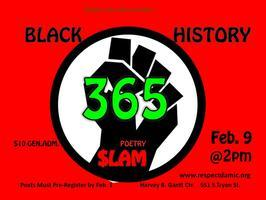 Black History 365 Poetry $lam