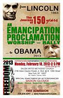 Emancipation Proclamation Worship-Rally on Feb 18,...