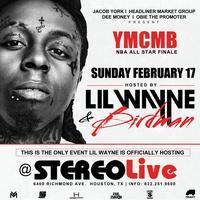 Lil Wayne LIV on Sunday in Houston @ STEREO LIVE FEB...