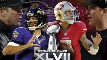 San Francisco 49ers vs. Baltimore Ravens Super Bowl...