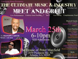 The Ultimate Music & Industry Meet and Greet -$10...
