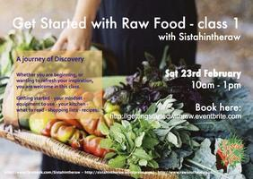Get Started with Raw Food - class 1