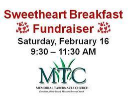 Vendor Registration | Annual Sweetheart Breakfast (Feb...