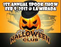 1ST Annual Spook Show @ Halloween Club
