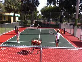 Tamiami Tennis Grand Opening of Kids Courts
