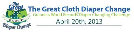 Babies in Bloom - The Great Cloth Diaper Change 2013