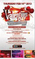 Salsa Con Fuego Valentines Day - Comedy Show & Dinner