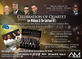Celebration of Quartet featuring Lee Williams and the S...