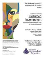 Presumed Incompetent: The Intersections of Race and...