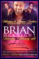 BRIAN MCKNIGHT Saturday at Harlem Nights