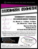 MAKING NOISE! Learn. Act. Heal. Community Conference...