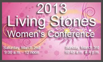 2013 Living Stones Women's Conference