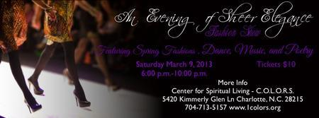 """Evening of Sheer Elegance"" Fashion Show"