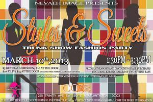 Styles & Sweets Trunk Show Fashion Party