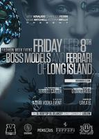 BOSS Models and FERRARI of Long Island FASHION WEEK EVE...