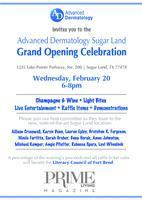 Advanced Dermatology Hosts Sugar Land Grand Opening Cel...