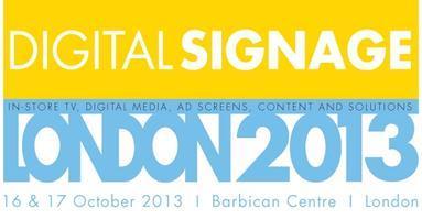 DIGITAL SIGNAGE LONDON 2013