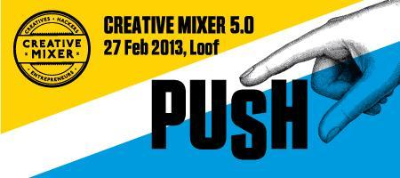 Creative Mixer 5.0: PUSH